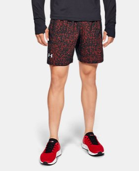 Men's UA Launch SW Printed 7'' Shorts FREE U.S. SHIPPING 1  Color Available $39.99