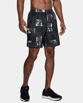 Men's UA Launch SW Printed 7'' Shorts  2  Colors Available $39.99