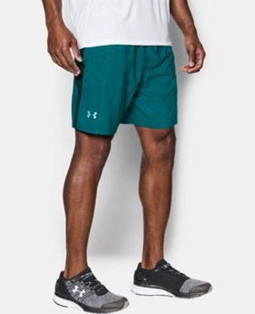 New Arrival Men's UA Launch SW Printed 7'' Shorts  1 Color $39.99