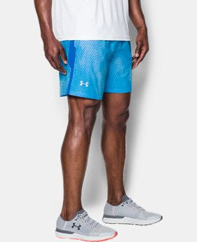 Men's UA Launch SW Printed 7'' Shorts  1 Color $27.99