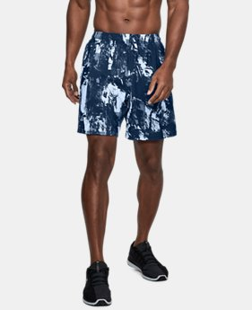Men's UA Launch SW Printed 7'' Shorts  1  Color $39.99