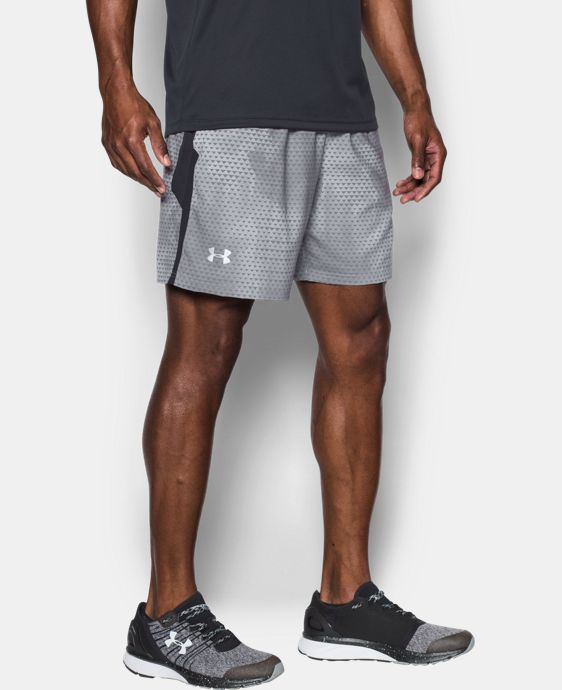New Arrival Men's UA Launch SW Printed 7'' Shorts  2 Colors $39.99