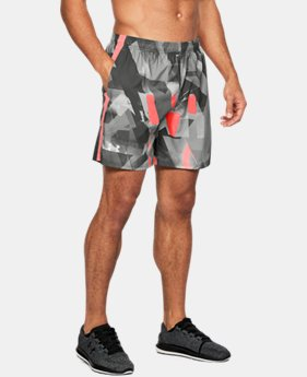 Men's UA Launch SW Printed 7'' Shorts   $39.99