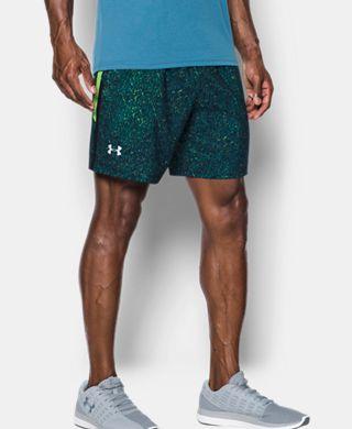 Men's UA Launch SW Printed 7'' Shorts