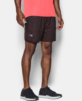 Men's UA Launch SW Printed 7'' Shorts  2 Colors $29.99 to $39.99