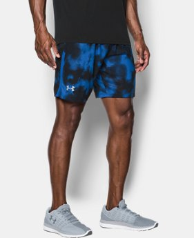 Men's UA Launch SW Printed 7'' Shorts  5 Colors $29.99 to $39.99