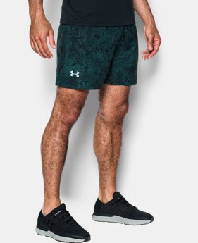 "Men's UA Speedpocket Printed 7"" Shorts  1 Color $34.99"