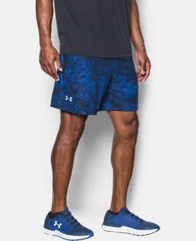 "Men's UA Speedpocket Printed 7"" Shorts  1 Color $49.99"