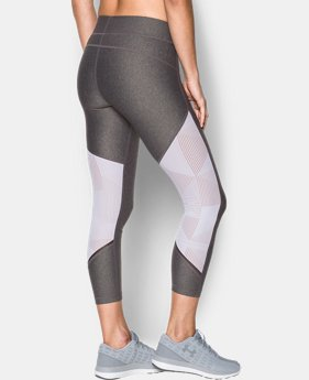 Women's HeatGear® Armour Supervent Crop  1 Color $64.99