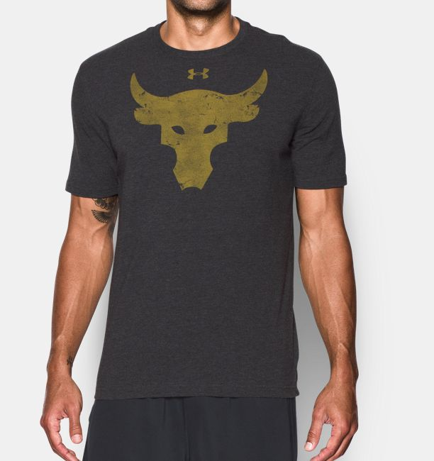 e59909c3 Men's UA x Project Rock Brahma Bull T-Shirt | Under Armour US