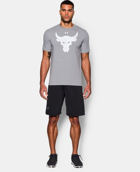 Best Seller Men's UA x Project Rock Brahma Bull T-Shirt  LIMITED TIME: FREE U.S. SHIPPING 1 Color $34.99