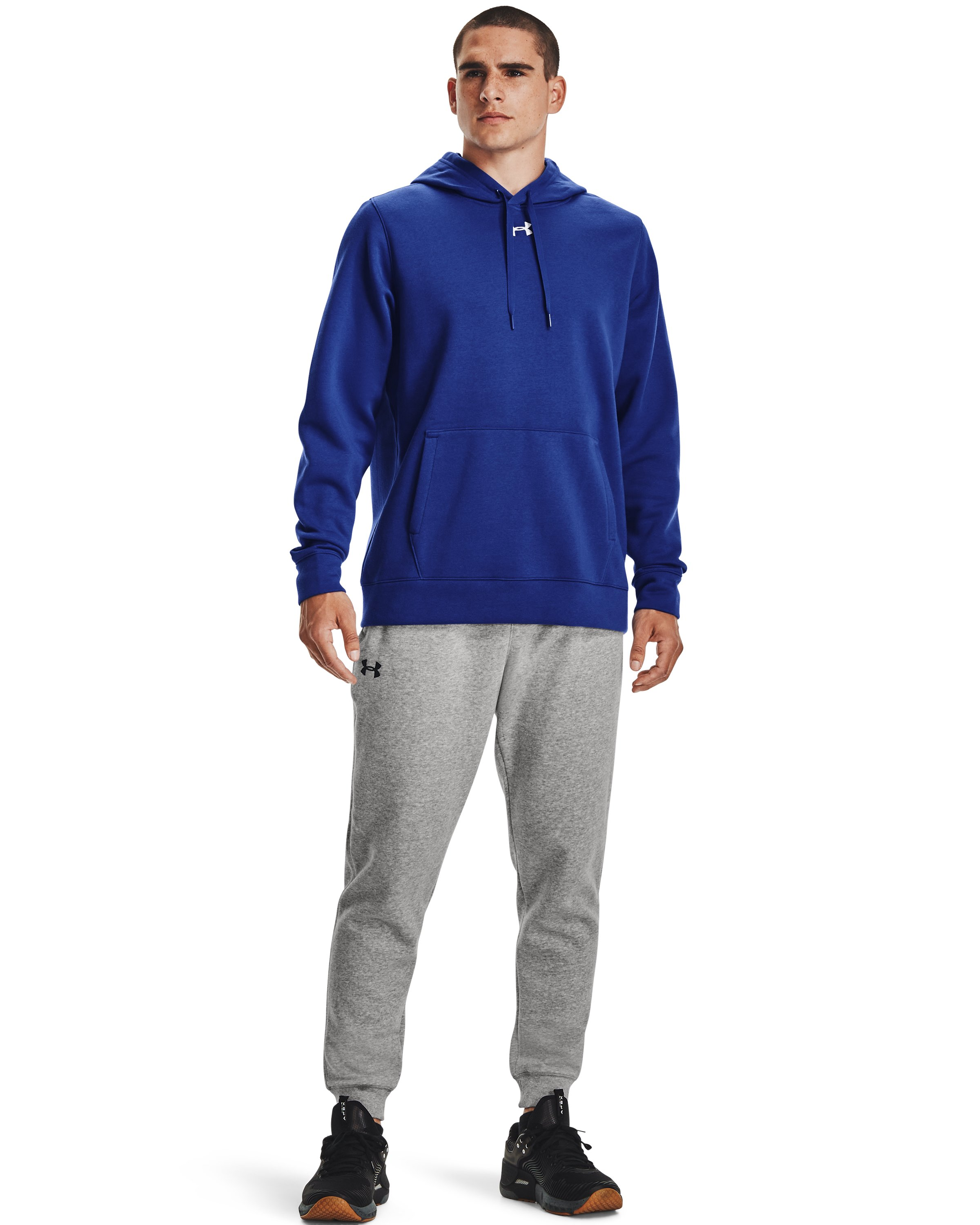 Men's UA Rival Fleece 2.0 Team Hoodie, Royal, undefined