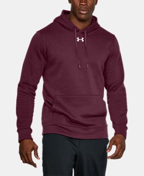 Men's UA Rival Fleece Team Hoodie LIMITED TIME ONLY 1  Color Available $31.49