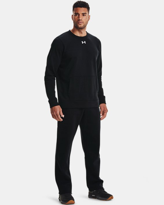 Men's UA Rival Fleece 2.0 Team Pants, Black, pdpMainDesktop image number 1