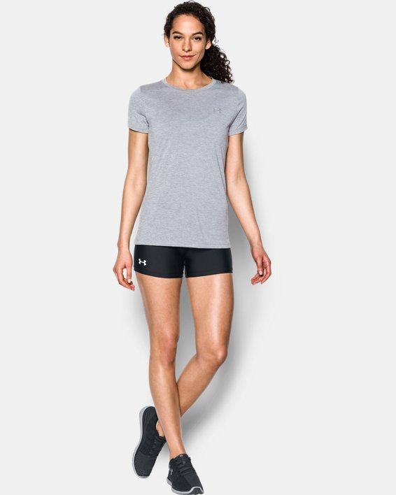 """Women's UA On The Court 4"""" Shorts, Black, pdpMainDesktop image number 2"""