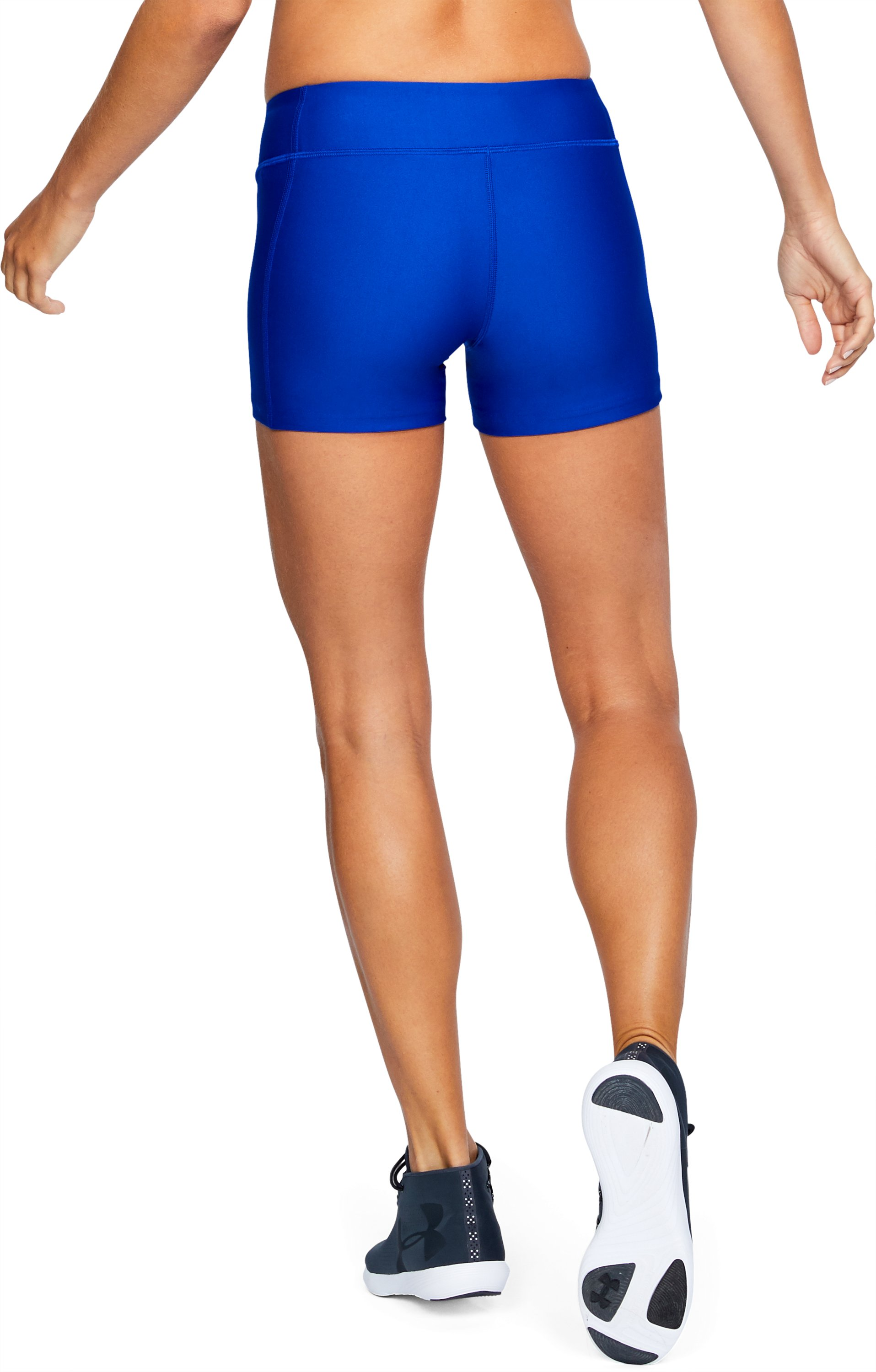 "Women's UA On The Court 4"" Shorts, Royal, undefined"