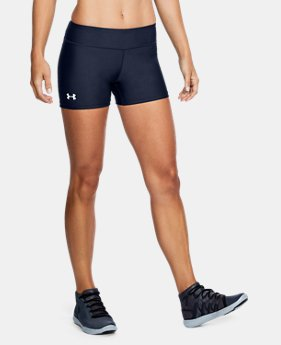 "Women's UA On The Court 4"" Shorts LIMITED TIME: FREE U.S. SHIPPING 1 Color $29.99"