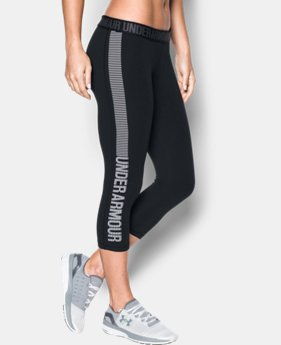 Women's UA Favorite Graphic Capris  1 Color $24.99 to $31.99