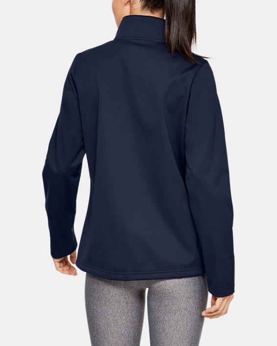 Women's UA Corp Ultimate Jacket, Navy, pdpMainDesktop image number 2