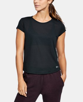 Women's UA Threadborne™ Mesh Short Sleeve  2 Colors $26.24 to $34.99