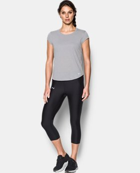 New Arrival Women's UA Threadborne™ Mesh Short Sleeve  1 Color $34.99