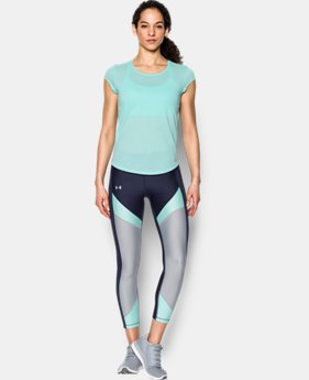New Arrival Women's UA Threadborne™ Mesh Short Sleeve  4 Colors $34.99