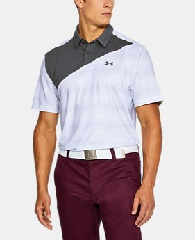 New Arrival  Men's UA CoolSwitch Blocked Polo  1 Color $89.99