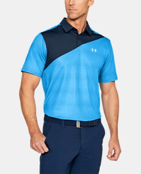 New Arrival Men's UA CoolSwitch Blocked Polo  1 Color $79.99