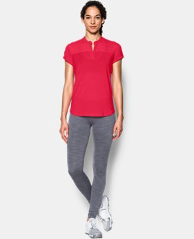 Women's UA Mandarin Jacquard Polo Shirt  4 Colors $64.99