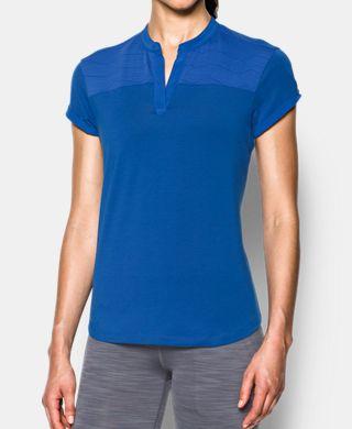 女子UA Mandarin Jacquard Polo衫