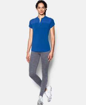 Women's UA Mandarin Jacquard Polo Shirt  2 Colors $48.74 to $64.99
