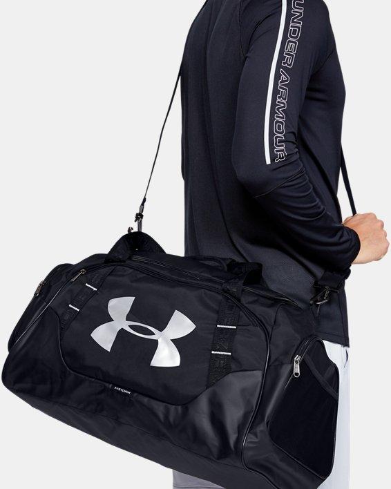 Men's UA Undeniable 3.0 Medium Duffle Bag, Black, pdpMainDesktop image number 0