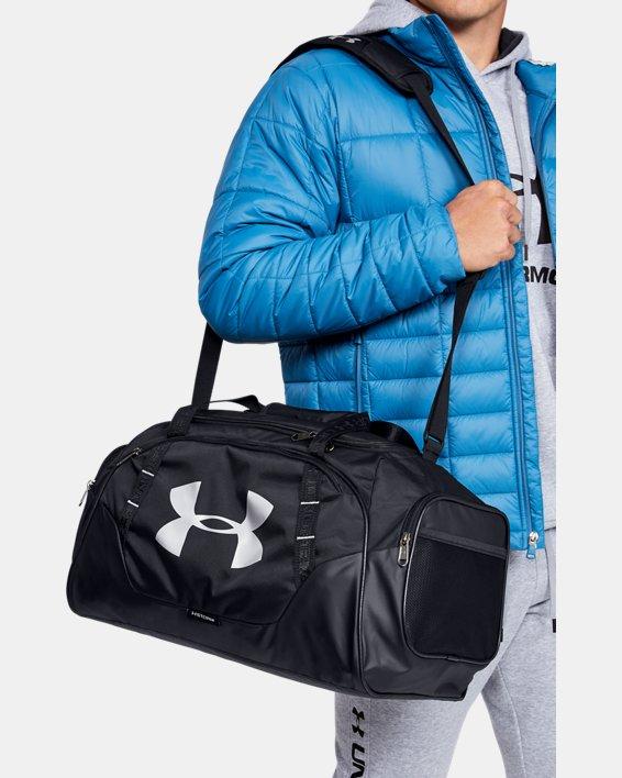 Men's UA Undeniable 3.0 Small Duffle Bag, Black, pdpMainDesktop image number 0