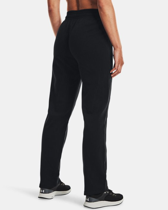 Women's UA Rival Pants, Black, pdpMainDesktop image number 2