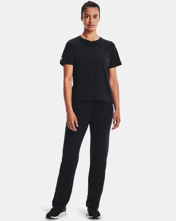 Women's UA Rival Pants, Black, pdpMainDesktop image number 1