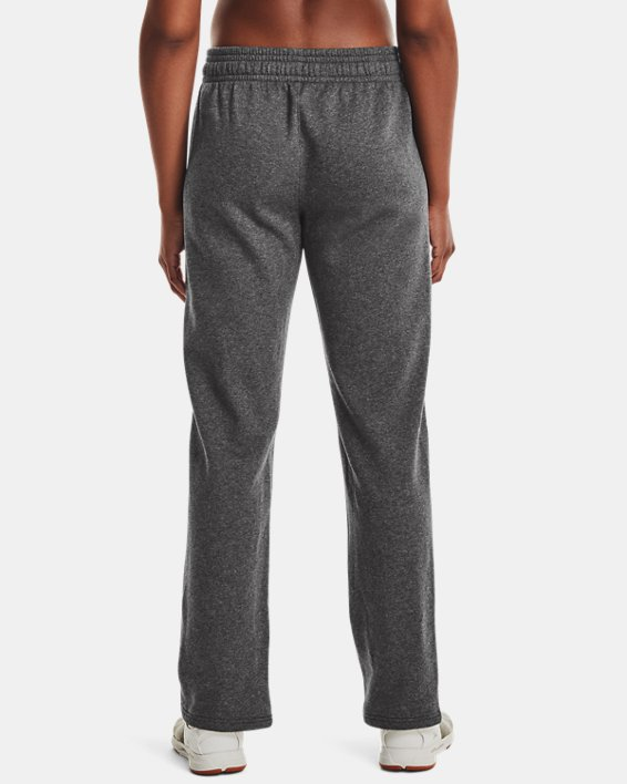 Women's UA Rival Pants, Gray, pdpMainDesktop image number 2