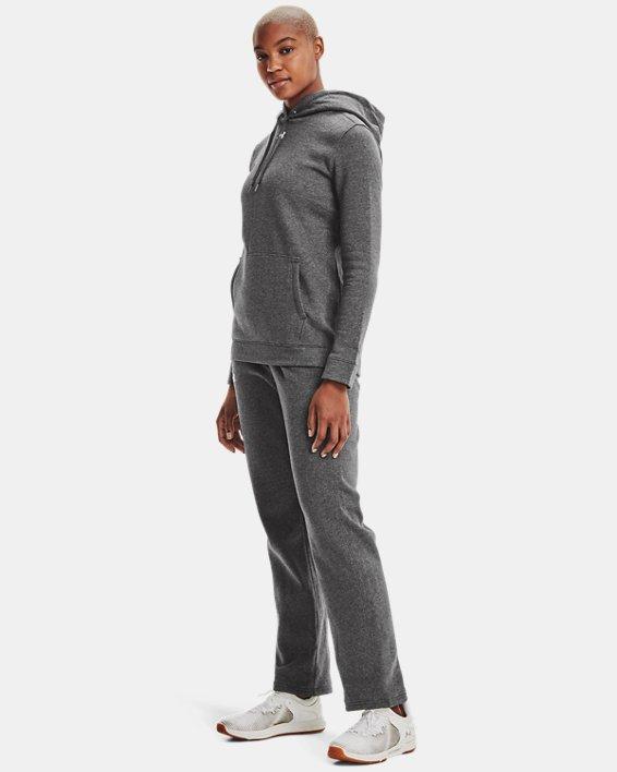 Women's UA Rival Pants, Gray, pdpMainDesktop image number 1