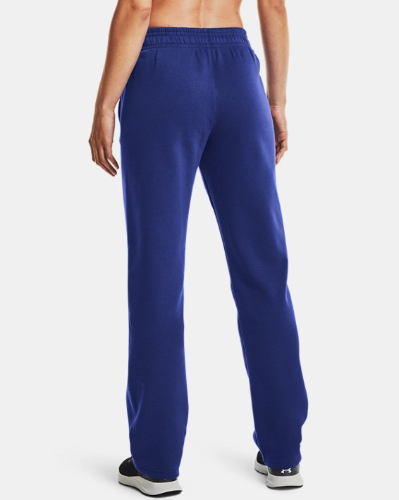 Women's UA Rival Pants, Blue, pdpMainDesktop image number 2