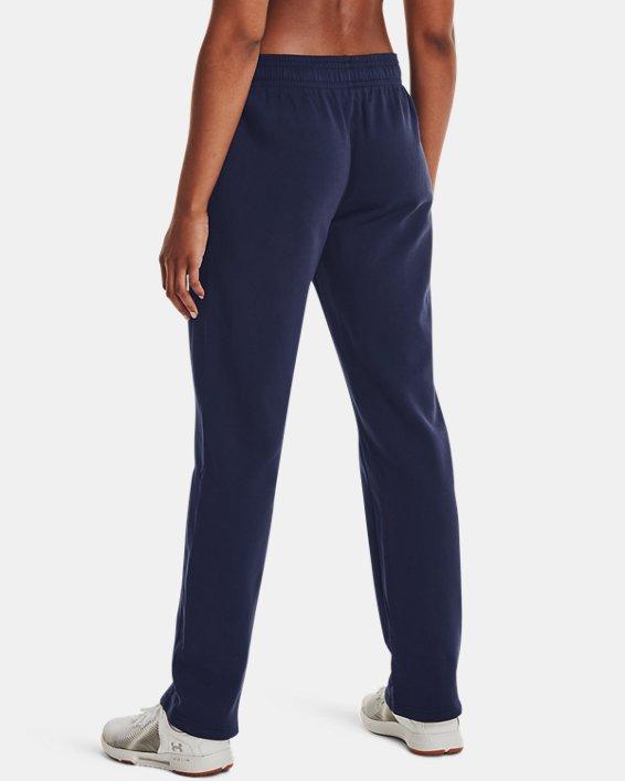 Women's UA Rival Pants, Navy, pdpMainDesktop image number 2