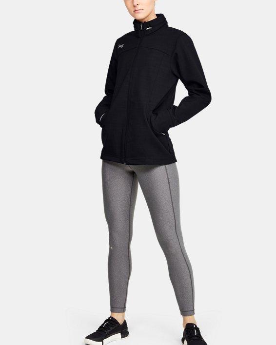 Women's UA Barrage Softshell Jacket, Black, pdpMainDesktop image number 0