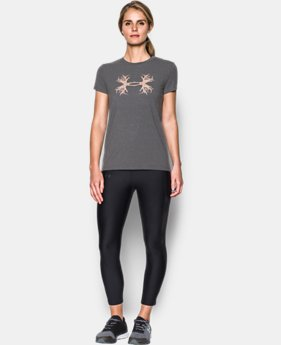 Women's UA Antler Logo T-Shirt  1 Color $18.74