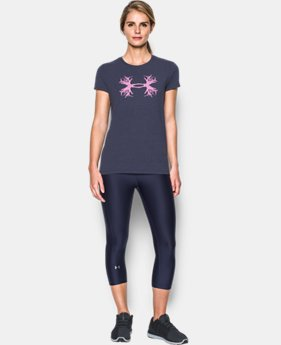 Women's UA Antler Logo T-Shirt  3 Colors $24.99