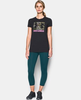 Women's UA Camo Logo T-Shirt  1 Color $22.49