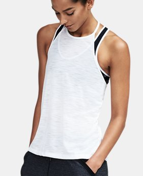 Women's UA Threadborne™ High Neck Tank  2 Colors $22.49 to $29.99