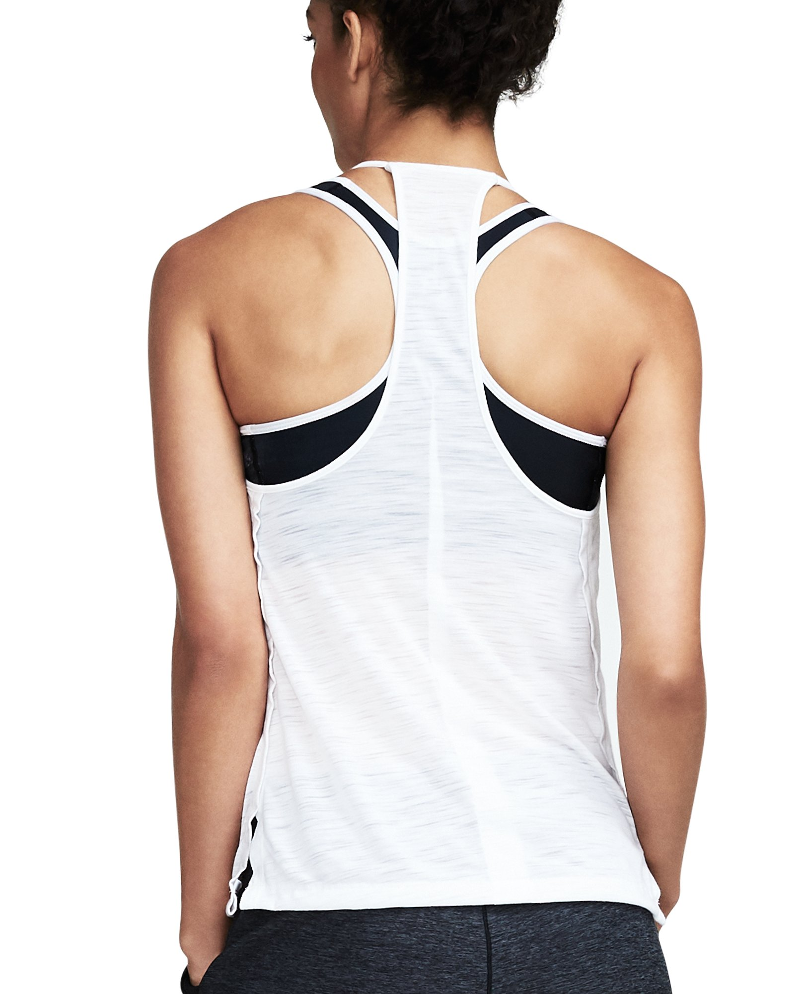 Women's UA Threadborne™ High Neck Tank, White