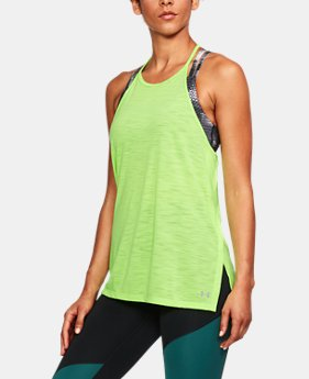 Women's UA Threadborne™ High Neck Tank  1 Color $39.99