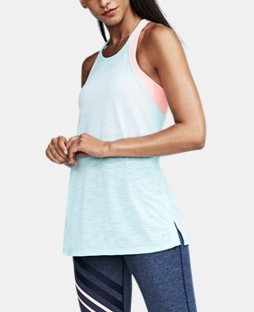 Women's UA Threadborne™ High Neck Tank   $39.99