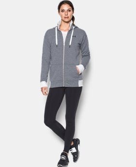 Women's UA Threadborne™ Fleece Full Zip Hoodie  2 Colors $74.99