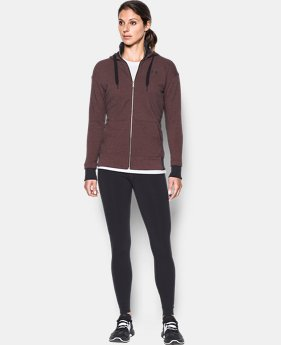 Women's UA Threadborne™ Fleece Full Zip Hoodie  1 Color $74.99