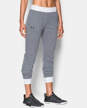Women's UA Threadborne™ Fleece Crop  1  Color Available $74.99